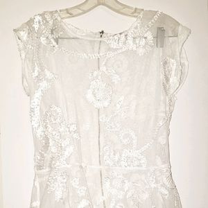 Flora Off White Shirt